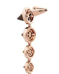 Eddie Borgo | Metallic Graduated Gemstone Cone Drop Earrings | Lyst