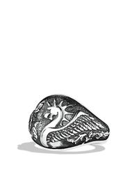 David Yurman | Metallic Griffin Signet Ring for Men | Lyst