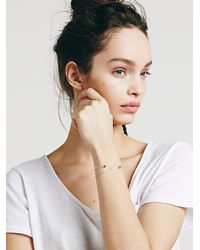 Free People | Blue Gem Remedy Bracelet | Lyst