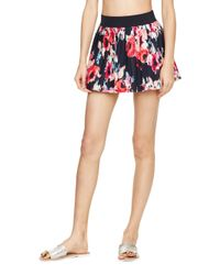 Kate Spade | Multicolor Colombe D'or Pleated Skirt Cover Up | Lyst