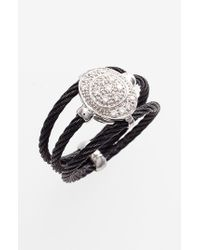 Alor | Black Pave Diamond Ring | Lyst