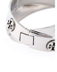 Tory Burch | Metallic Set Of 2 Logo Bracelet | Lyst