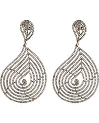 Carole Shashona | Metallic Women's Cosmic Blessing Earrings | Lyst
