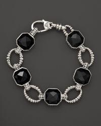 Lagos - Black Onyx Doublet Bracelet - Lyst