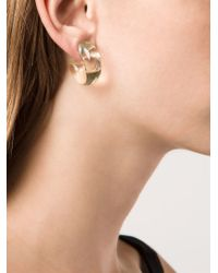 Stella McCartney - Yellow 'bijoux Butter Plexi' Earrings - Lyst