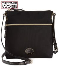 Dooney & Bourke | Black Nylon Crossbody | Lyst