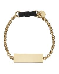 Marc By Marc Jacobs | Metallic Standard Supply Black Chain Bracelet | Lyst