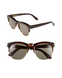 Wildfox - Brown 'club Fox' 52mm Sunglasses - Lyst