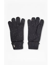 French Connection | Black Pierre Fleck Gloves | Lyst