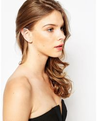 ALDO | Metallic Graleni Crystal Wing Ear Cuff | Lyst