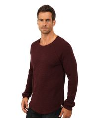 Lucky Brand | Red Thermal Crew for Men | Lyst