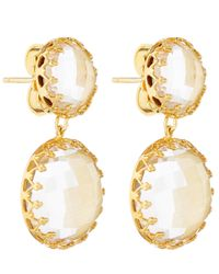 Larkspur & Hawk - Yellow Topaz Olivia Drop Earrings - Lyst