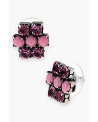 ALEX AND ANI   Pink 'Sparkler' Earrings - Cotton Candy   Lyst