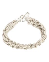 1-100 | Natural Woven Rope Bracelet | Lyst