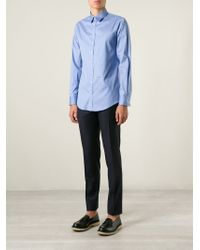 DSquared² - Blue Classic Shirt for Men - Lyst