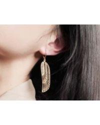 Zoe & Morgan | Metallic Isis Earrings | Lyst