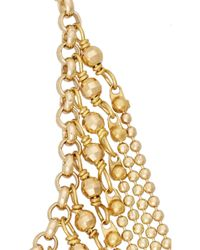 Rosantica - Metallic Millenote Gold-Tone Necklace - Lyst