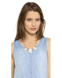 House of Harlow 1960 - Metallic Five Station Necklace - Lyst