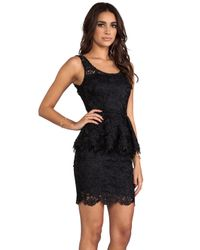 Blaque Label | Lace Dress in Black | Lyst