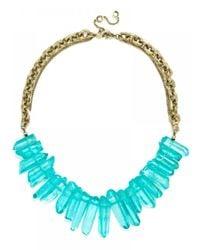 BaubleBar | Blue Bamm-bamm Collar-turquoise | Lyst
