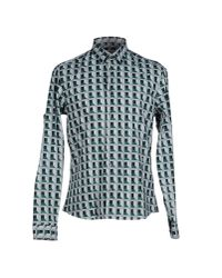 KENZO - Gray Shirt for Men - Lyst
