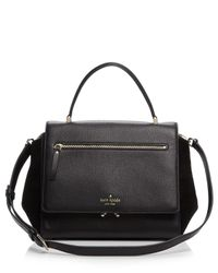 kate spade new york | Black Matthews Drive Anderson Satchel | Lyst