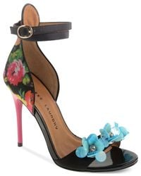 Chinese Laundry - Multicolor Lullaby Two-piece Flower Beaded Sandals - Lyst