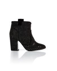 Laurence Dacade | Black Merli Triplebuckle Studded Midcalf Boot | Lyst