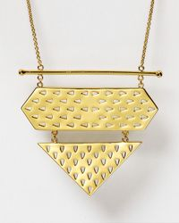 "Gorjana - Metallic Zion Long Necklace, 34"" - Lyst"