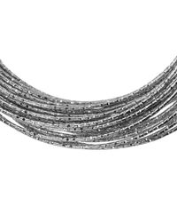 John Lewis | Metallic Sparkle Russian Bangle | Lyst