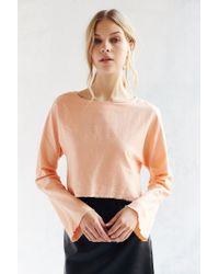 Silence + Noise | Pink Dana Top | Lyst