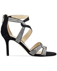 Marc Fisher | Black Lexcie Evening Sandals | Lyst