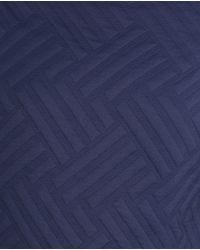 Zara | Blue Jacquard Sweatshirt | Lyst