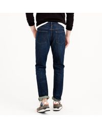 J.Crew | Blue 1040 Slim-straight Jean In Dark Worn Wash for Men | Lyst