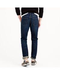 J.Crew | Blue 1040 Slim-straight Jean In Dark Worn Wash for Men | Lyst