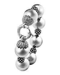 Lagos | Metallic Bold Caviar Wow Bracelet | Lyst