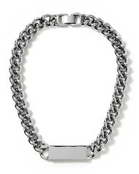 Banana Republic | Metallic Link Id Necklace | Lyst