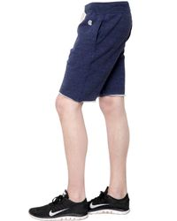 Todd Snyder | Blue Techno Cotton Jersey Sweat Shorts for Men | Lyst