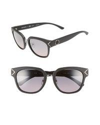 Tory Burch - Black 53mm Polarized Sunglasses - Lyst