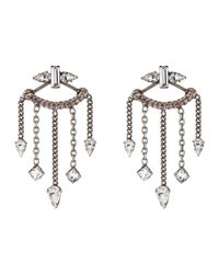 DANNIJO - Metallic Coley Earrings - Lyst
