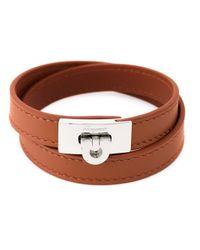 Ferragamo - Yellow Gancio Bracelet for Men - Lyst