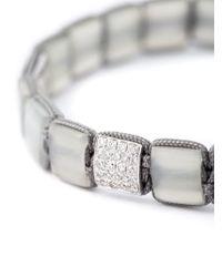 Shamballa Jewels - Metallic Beaded Bracelet - Lyst