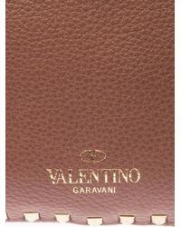 Valentino - Purple Rockstud Double Reversible Tote - Lyst