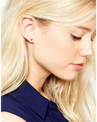 Estella Bartlett - Metallic Louise Star Earrings - Lyst