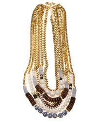 Lizzie Fortunato - Multicolor 'Dutch East India' Necklace - Lyst