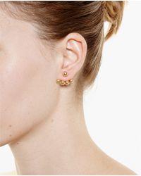 Yvonne Léon | Metallic 18K Gold Lobe Earring | Lyst