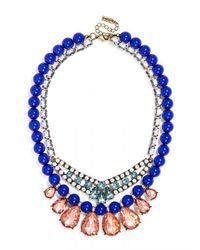 BaubleBar - Blue Buckingham Layered Necklace - Lyst