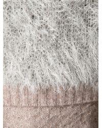 Nina Ricci - Natural Cropped Cardigan - Lyst