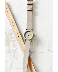 Urban Outfitters - Gray Double Wrap Suede Watch - Lyst