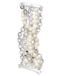 Ralph Lauren - Metallic Lauren Link Bracelet - Lyst